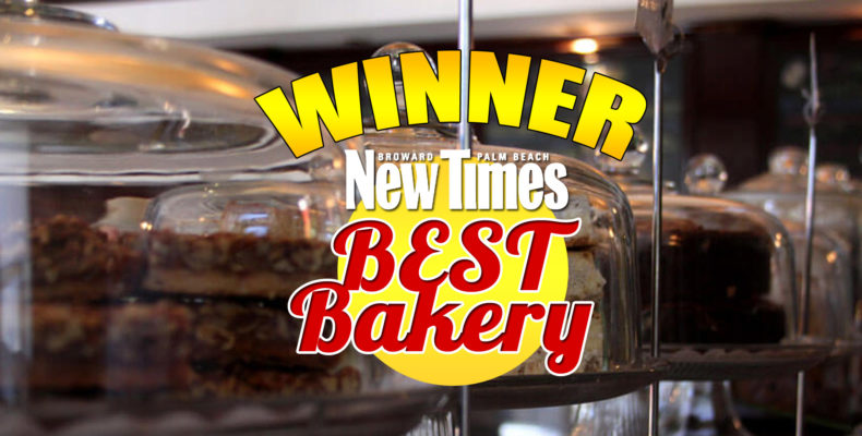 Stork's Wins Best Bakery from New Times