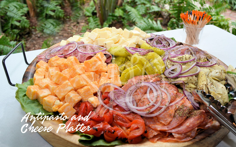 Antipasto and Cheese Platter